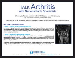 NationalRad Arthritis Expertise