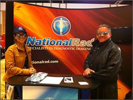 NationalRad AAOE Booth